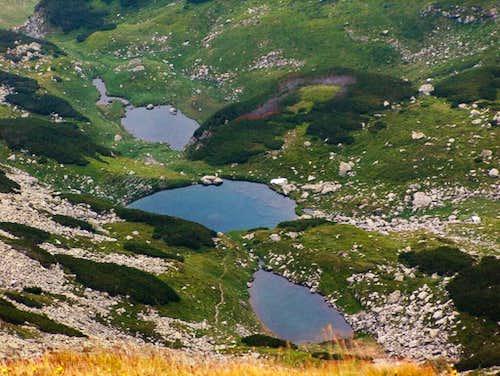 Buhaescu lakes
