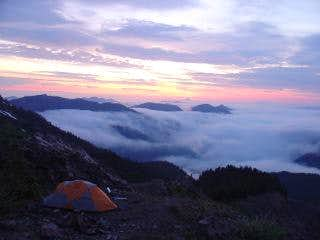 High Camp Sunrise