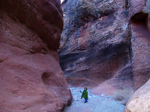 Narrows section