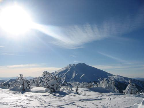 View to Mount Bachelor