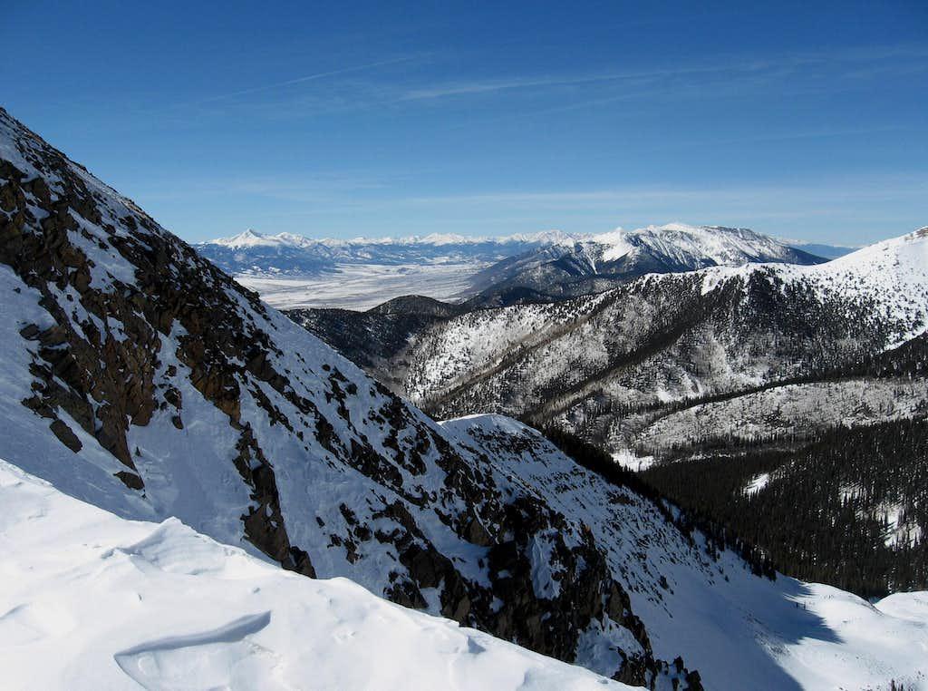 West Ridge view