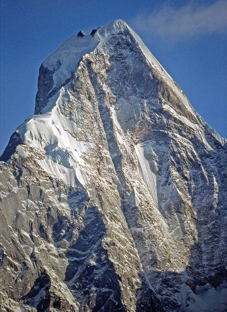 The south face of the fourth girl 6250m