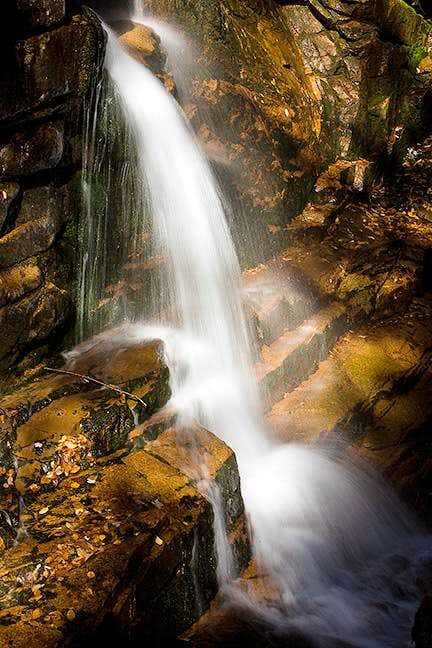 Waterfall in Flume Gorge