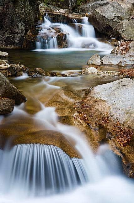 Waterfalls at the Basin
