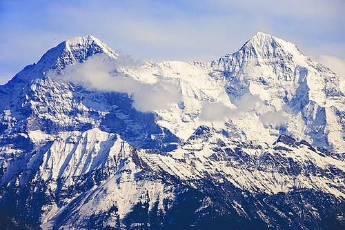 The Eiger and Monch