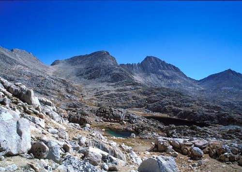 Feather Peak from NW October...