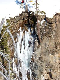 Climbing Near Tumalo Falls
