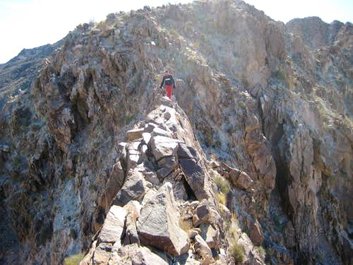 Knife Edge to Arch Mt