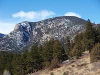 Sheep Mountain from McGraw Ranch Road