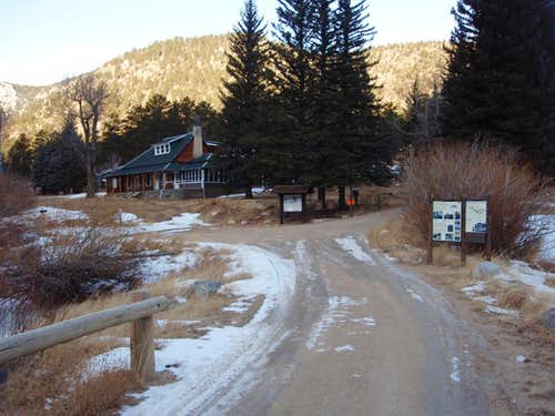 Cow Creek Trailhead