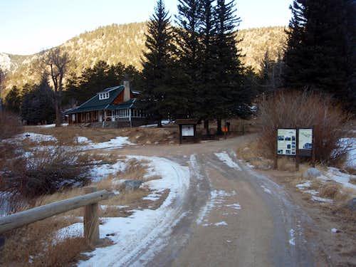 Cow Creek Trailhead