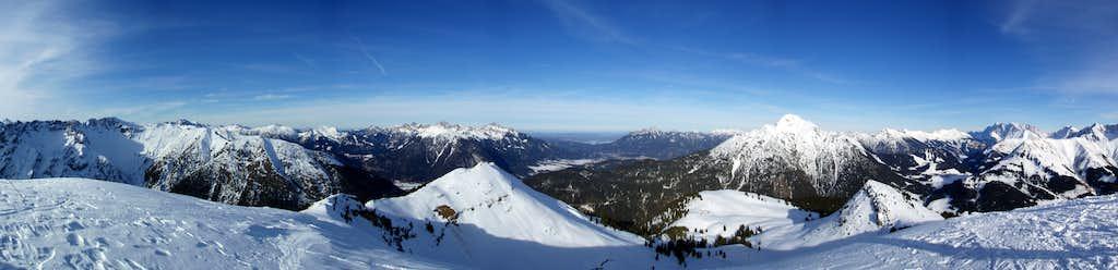 Galtjoch (2109m) summit panorama