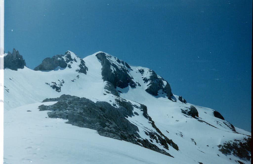 The summit of Monte Perdido