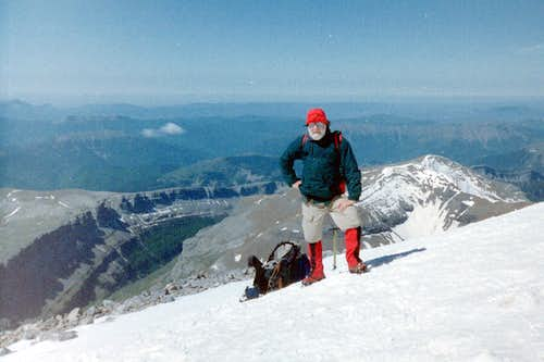 Johnnie on Monte Perdido