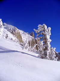 Summit Cliffs of Lone Peak