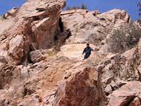 Granite Peak (NM bootheel) Rocky Terrain