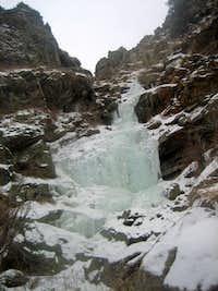 January Clear Creek Ice
