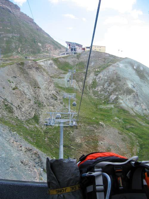 Views from Unterrothorn/Zermatt