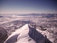 View SW from Lone Peak summit