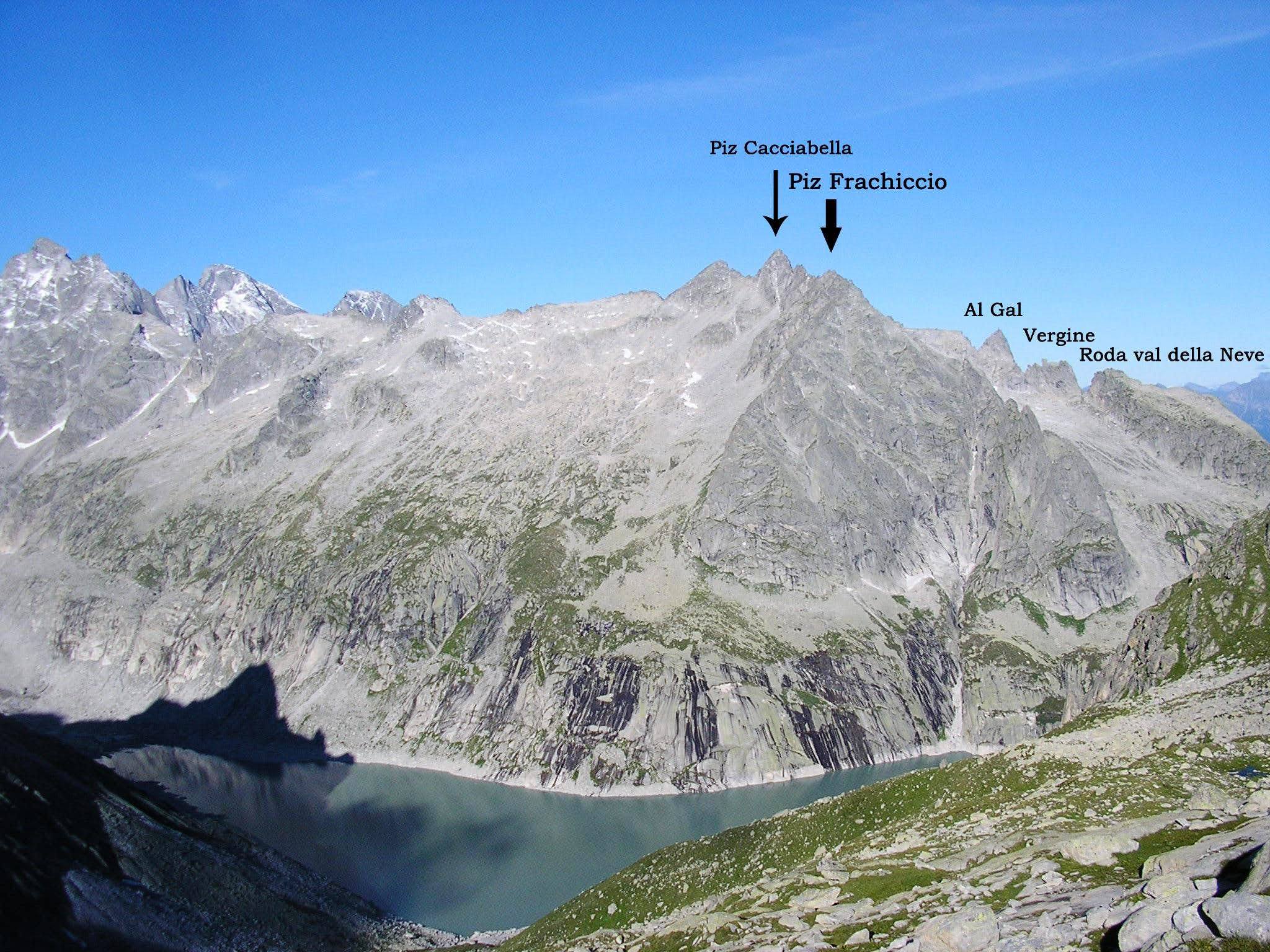 Piz Frachiccio East Ridge