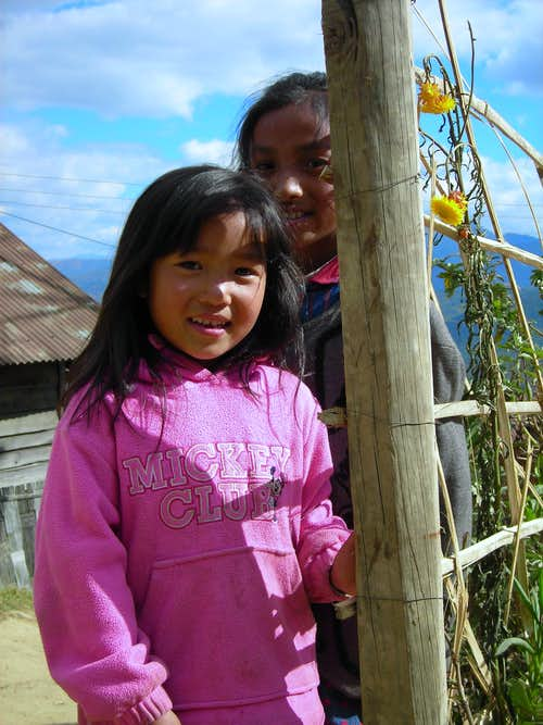Sweet Tanghkul Girls in Ukhrul