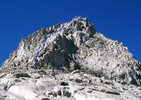 Southeast Ridge and East Face of Picture Peak.