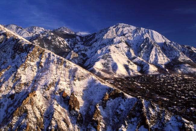 Mount Olympus from Millcreek...