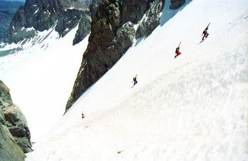 U Notch ascent