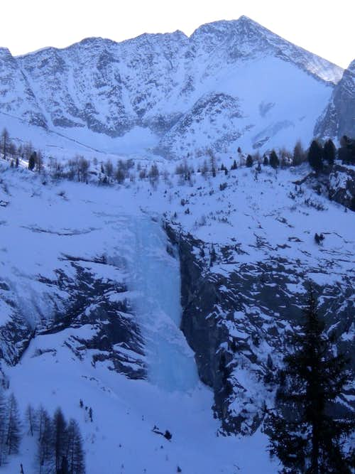Ursprung Icefall WI4+