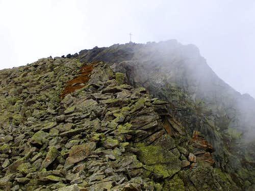 Pizzo San Martino. SE ridge.