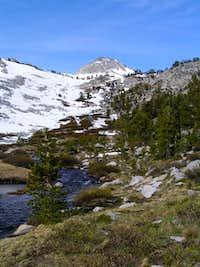 Waterfall below McClure Lake.