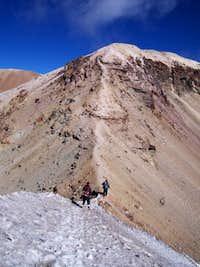 Izta - Approaching Summit