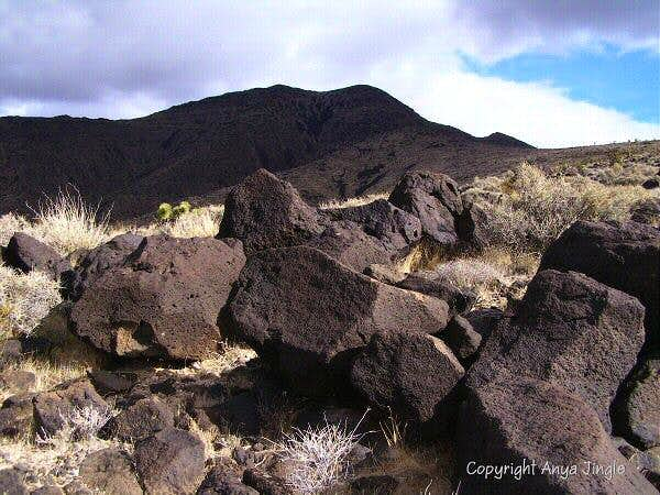 Volcanic rocks of Black Mountain