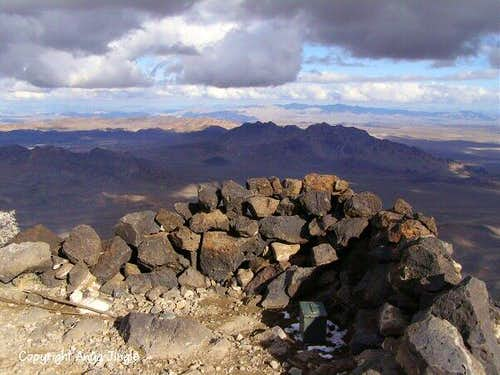 Summit of Black Mountain