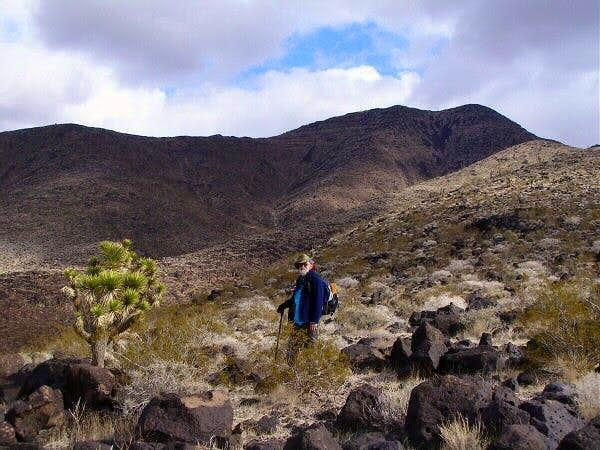 On Black Mountain trail