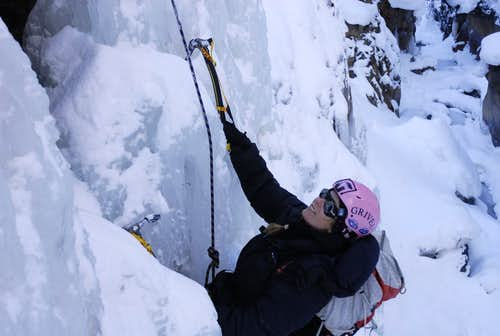 Fun on Ouray Ice