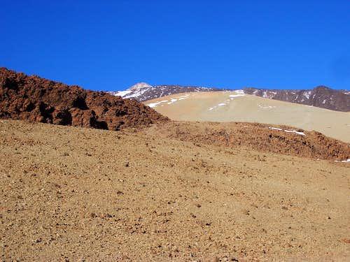 Teide and Montaña Blanca