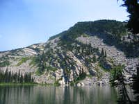Engle Peak From Engle Lake