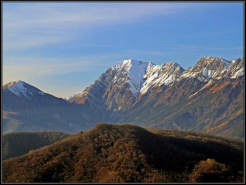 Monte Champon from the SE
