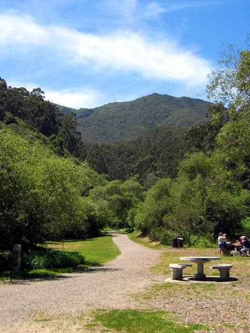 Montara Mountain as seen from...