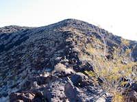 The northwest ridge