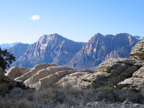 Views of Red Rock Canyon