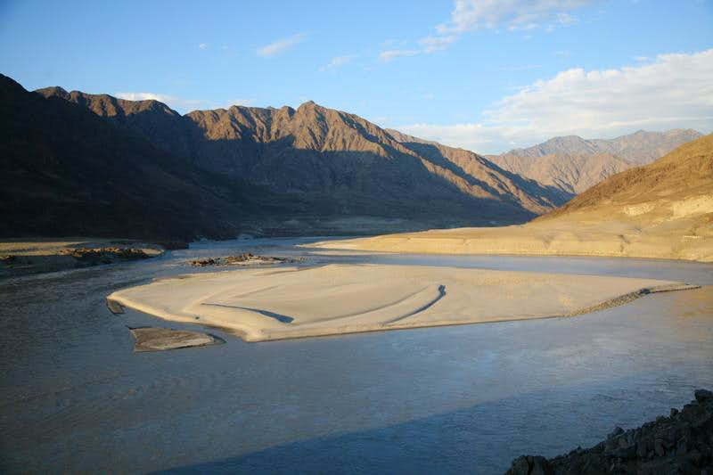 Indus River along Karakoram Highway