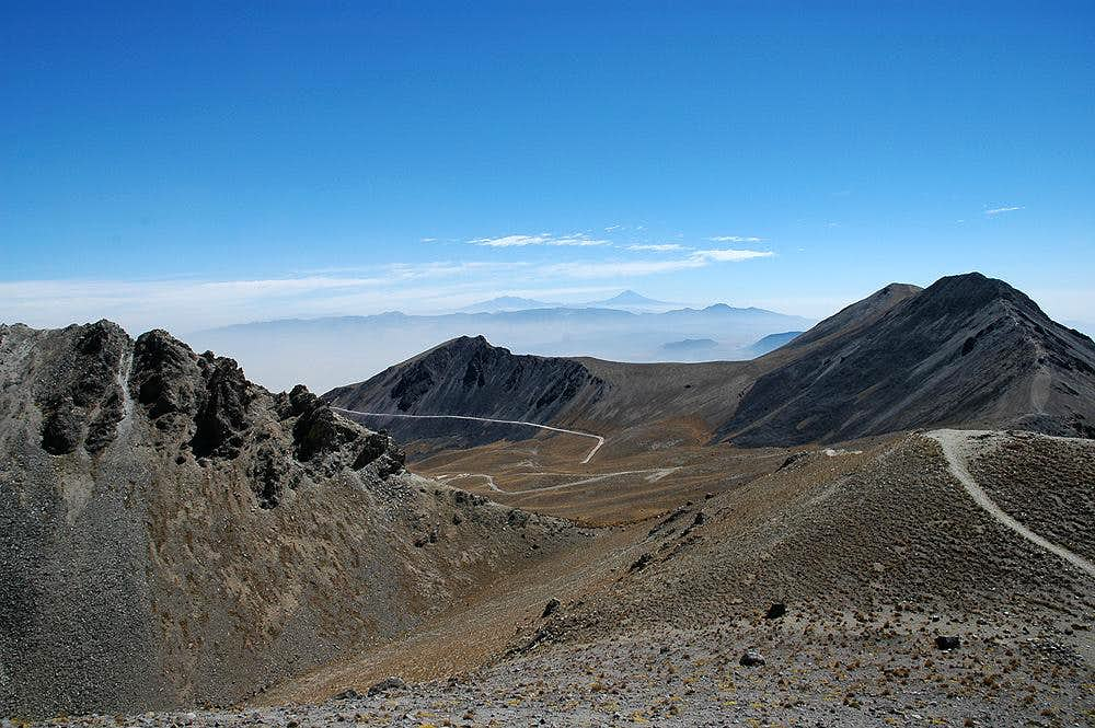 Nevado de Toluca View from Crater Rim