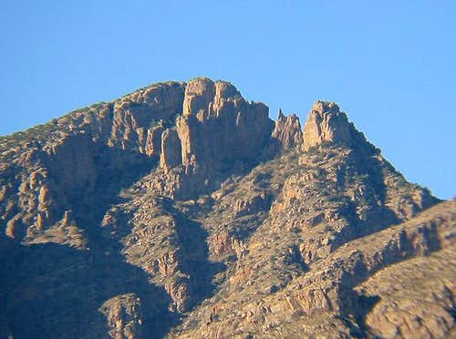 Finger Rock from Tucson (this...