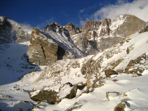 Longs Peak East Face