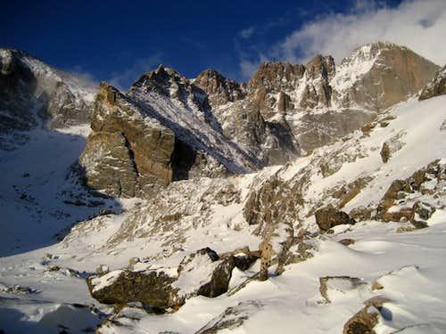 Longs Peak East Face