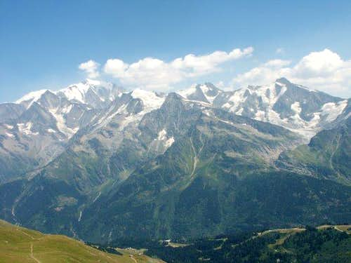 Mont-Blanc Massive seen from...