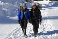 Jennie and Sara in Ouray
