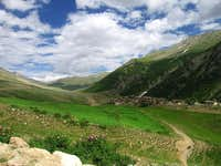 A Green Village of North Pakistan